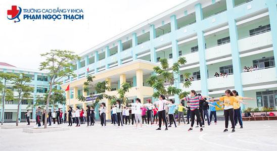 trường Cao đẳng Y khoa Phạm Ngọc Thạch, ngôi trường có chất lượng hàng đầu Việt Nam.
