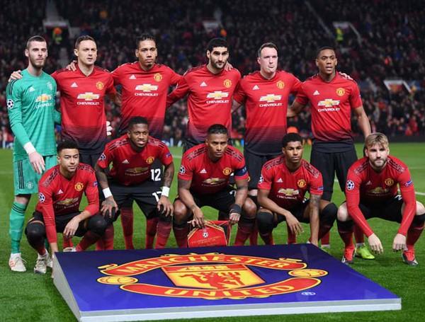 Đội hình Manchester United 2019 với dàn sao khủng
