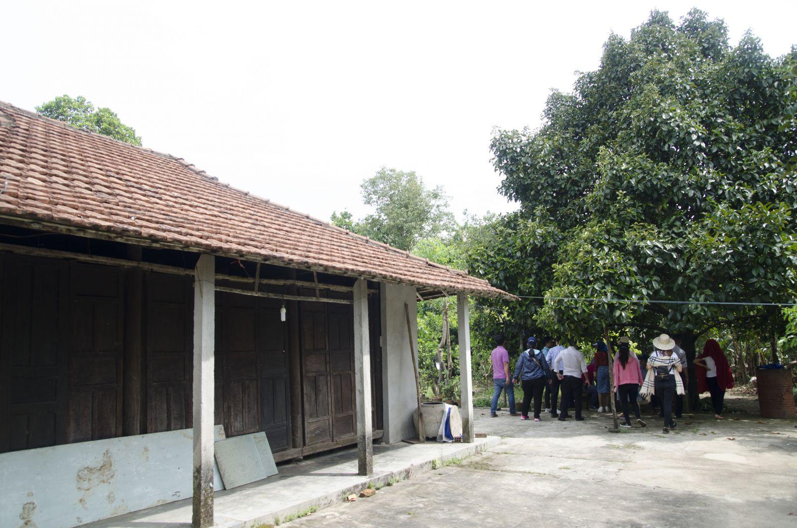 Nhà cổ ở làng Đại Bình