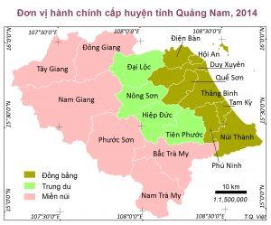 Tỉnh Quảng Nam có mấy thành phố?