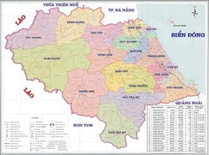 Tỉnh Quảng Nam có bao nhiêu thành phố?