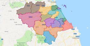 Tỉnh Quảng Nam có bao nhiêu huyện